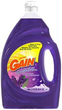 Gain® Ultra Lavender Dishwashing Liquid 56 fl. oz. Plastic Bottle