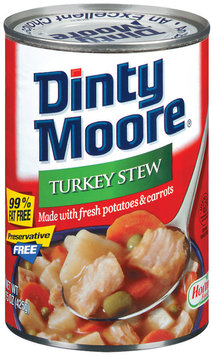 DINTY MOORE 99% Fat Free Turkey Stew 15 OZ CAN