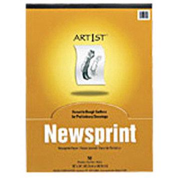Pacon Creative Products Art1st Newsprint Pad 12x18 50 Sht (Set of 2)