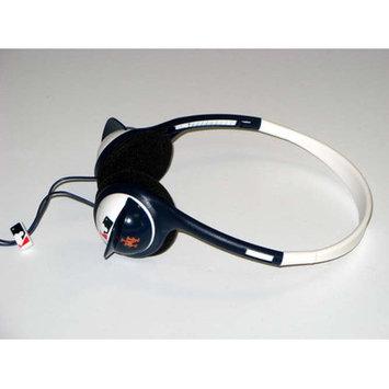 Ihip Digital MLB Batting Helmet Overhead Headphones New York Mets Style