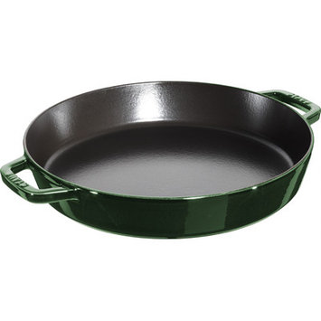 Staub Double Handle Fry Pan, 13-inch - Basil