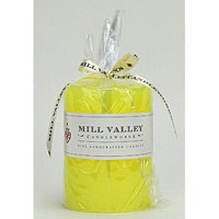 Mill Valley Candleworks Meyer Lemon Scented Pillar Candle Size: 8