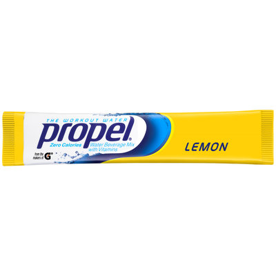 Propel® Lemonade Water Beverage Mix with Vitamins .07 oz. Packet