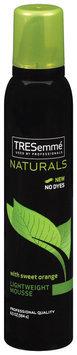 TRESemmé Naturals W/Sweet Orange Lightweight Mousse