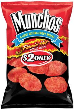 Munchos® Brand Flamin' Hot Potato Crisps 4.5 oz. Bag