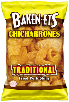 Baken-Ets® Chicharrones Traditional Fried Pork Skins 2.375 oz. Bag