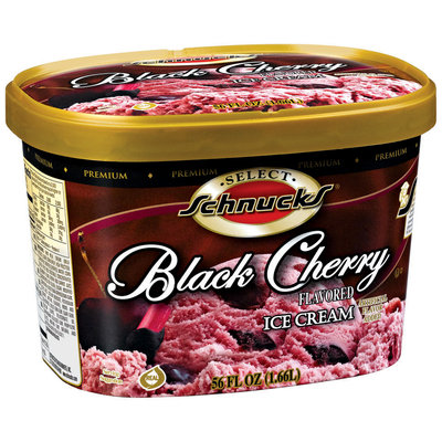Schnucks Black Cherry Ice Cream