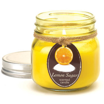 Lemon Sugar Mason Jar Candle By Orchard Village