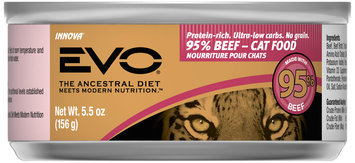 Evo® 95% Beef Cat Food 5.5 oz. Can