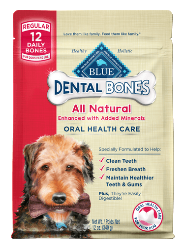 THE BLUE BUFFALO CO. BLUE™ Dental Bones™ Regular Size