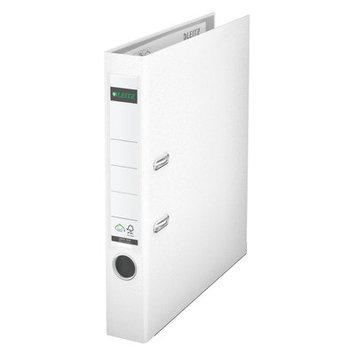 Leitz 180° 10151001 DIN A4 Plastic Lever Arch Folder 52mm Width, White
