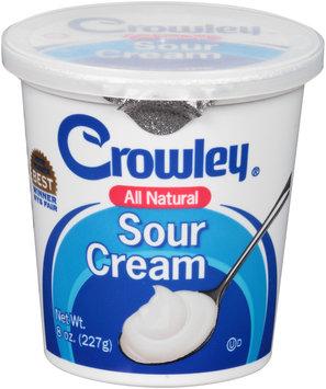 Crowley® All Natural Sour Cream 8 oz. Cup