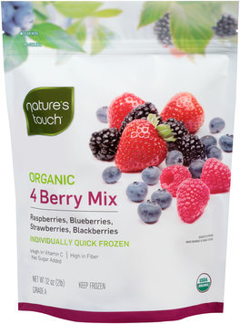 Nature's Touch™ Organic 4 Berry Mix 32 oz. Stand-Up Bag