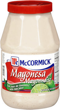McCormick® Mayonnaise with Lime Juice 125 fl oz