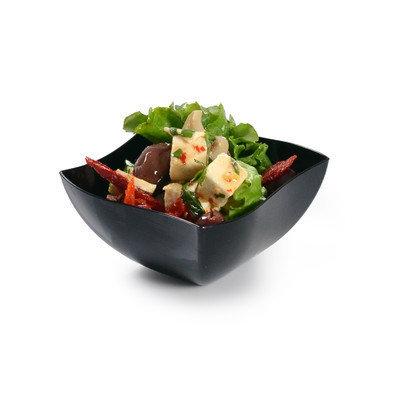Fineline Settings, Inc Wavetrends 8 oz. Serving Bowl (Pack of 80) Color: Black