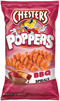 Chester's® BBQ Flavored Spirals Poppers 4.5 oz. Bag