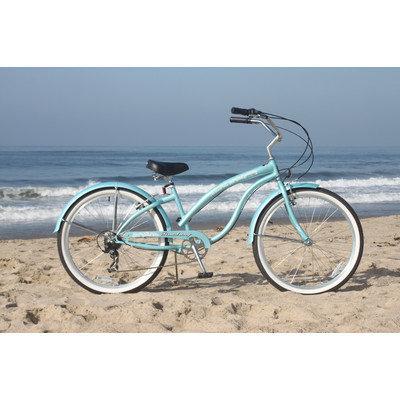 Beachbikes Women's Bella Classic Beach Cruiser Bike Frame Color: Pink