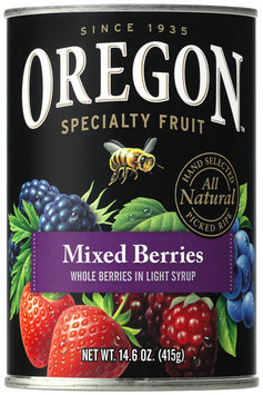 Oregon Fruit Products® Mixed Berries in Light Syrup