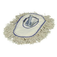Carlisle 3649000 - Cotton Wedge Dust Mop w/ Frame