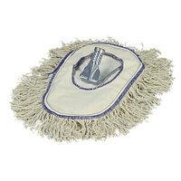 Carlisle 3649000 - Cotton Wedge Dust Mop w/ Frame