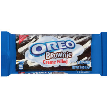 Nabisco Oreo Creme Filled Brownie 3 oz. Pack