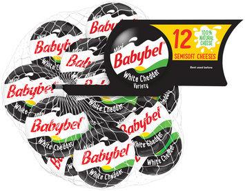 Mini Babybel® White Cheddar Semisoft Cheese