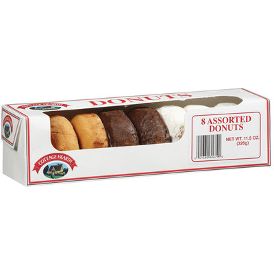 Cottage Hearth Assorted Donuts 8 Ct Box