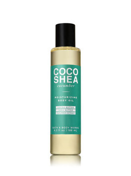 Bath & Body Works® COCOSHEA CUCUMBER Moisturizing Body Oil