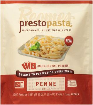 Reames® Presto Pasta™ Steam Pouches Penne Singles 4-5 oz. Pouches