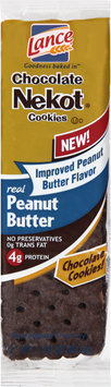 Lance® Chocolate Nekot® Real Peanut Butter Cookies 1.75 oz. Wrapper