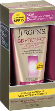Jergens® BB Protect All Medium Deep Skin Tones Perfecting Body Cream with Sunscreen 6 fl. oz. Box