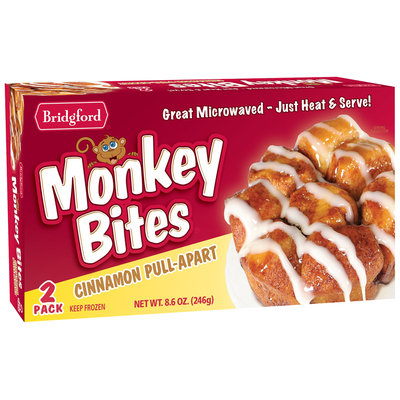 Bridgford® Cinnamon Pull-Apart Monkey Bites® 8.6 oz. Box