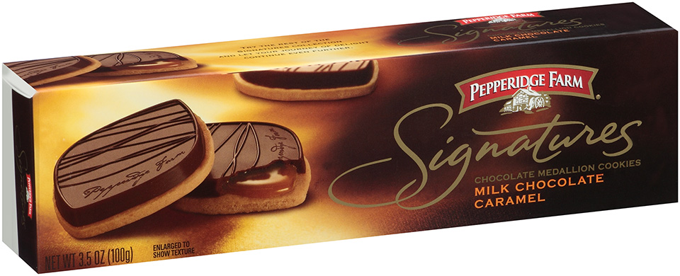 Pepperidge Farm® Signatures Milk Chocolate Caramel Medallion Cookies