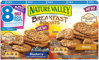 Nature Valley™ Blueberry/Honey Breakfast Biscuits Variety Pack