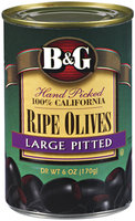 B&G Ripe Pitted Olives