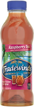 Tradewinds® Raspberry Tea 18.5 fl. oz. Plastic Bottle