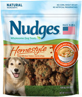 Nudges® Homestyle Chicken Pot Pie Flavor Wholesome Dog Treats 18 oz. Bag