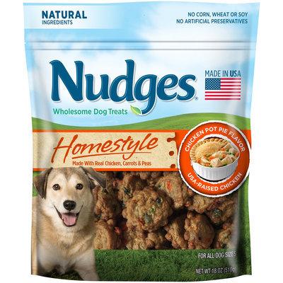 Nudges® Homestyle Chicken Pot Pie Flavor Wholesome Dog Treats 18 oz. Bag