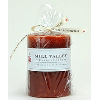 Mill Valley Candleworks Pumpkin Spice Scented Pillar Candle Size: 8