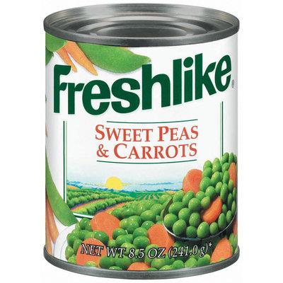 Freshlike Sweet & Carrots Peas 8.5 Oz Can