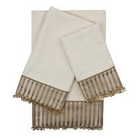 Sherry Kline Hamilton Embellished 3 Piece Towel Set