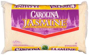 Carolina® Jasmine Enriched Thai Fragrant Long Grain Rice 20 lb. Bag