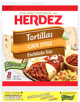 Herdez® Cafe Style Enchilada Size Tortillas 16 oz. Bag