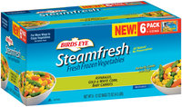 Birds Eye® Steamfresh® Fresh Frozen Asparagus, Gold & White Corn, Baby Carrots 6-12 oz. Bags