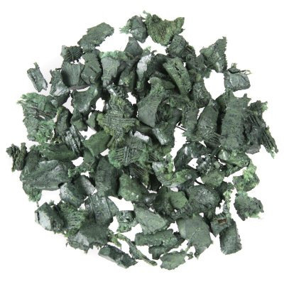 KidWise Rubber Playground Mulch Color: Green