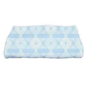 The Holiday Aisle Star Light Bath Towel Color: Light Blue