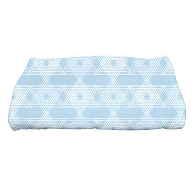 The Holiday Aisle Star Light Bath Towel Color: Light Blue
