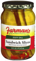 Farman's®Zesty Dill Sandwich Slices