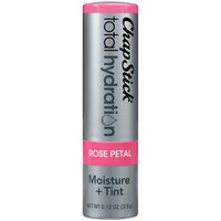 ChapStick® Total Hydration Moisture + Tint Rose Petal Tinted Moisturizer 0.12 oz. Carded Pack