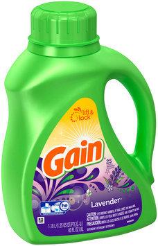 Gain Liquid Laundry Detergent, Lavender Scent, 25 Loads 40 Fl Oz